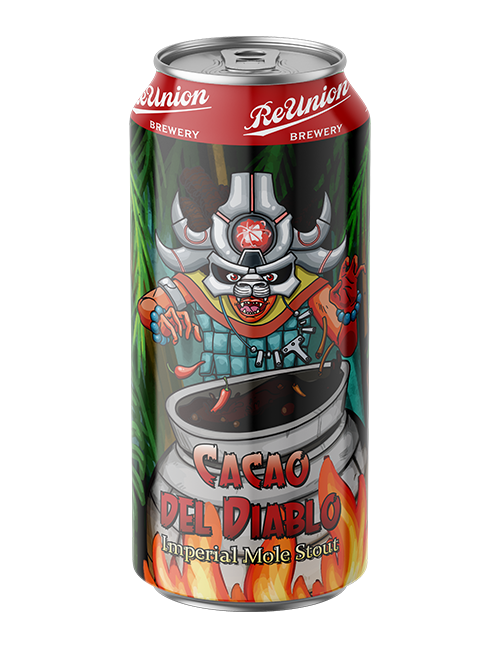Cacao Del Diable Impérial Mole Stout | ReUnion Brewery