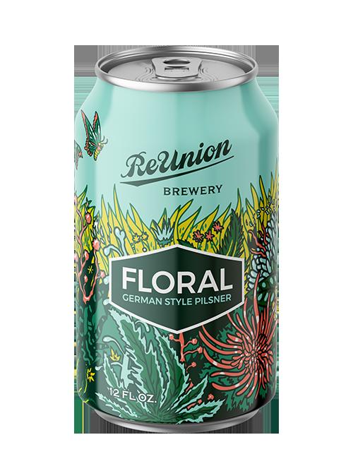 Floral Pilsner ReUnion Brew