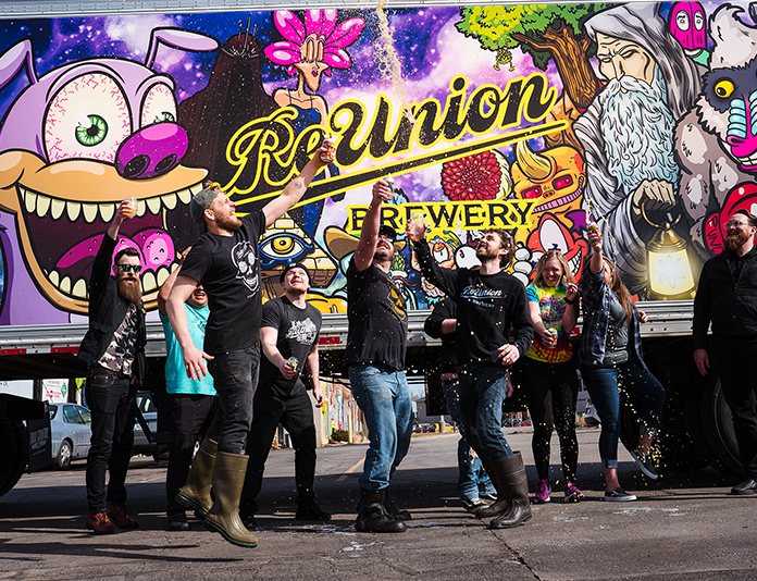 Meet the Team at reunion Brewery