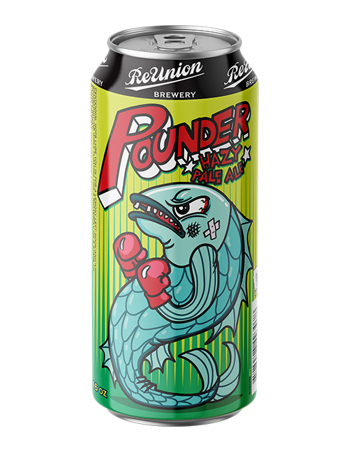 Pounder Hazy Pale Ale Beer ReUnion