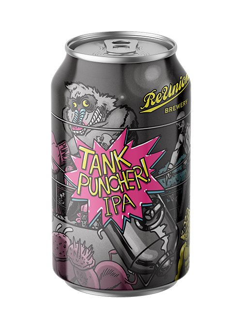 Tank Puncher IPA - Reunion Brewery Local Brewery
