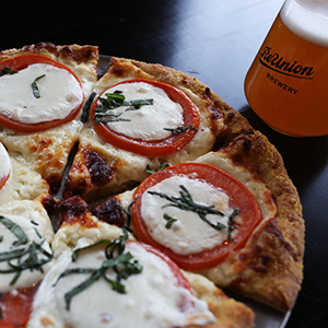 Pizza and Wings at ReUnion Brewery Coralville