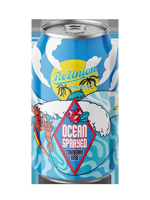 Ocean Sprayed Cranberry Gose | ReUnion Brewery
