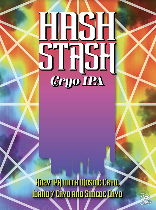 Taproom Only Release Hash Stash ReUnion Brewery