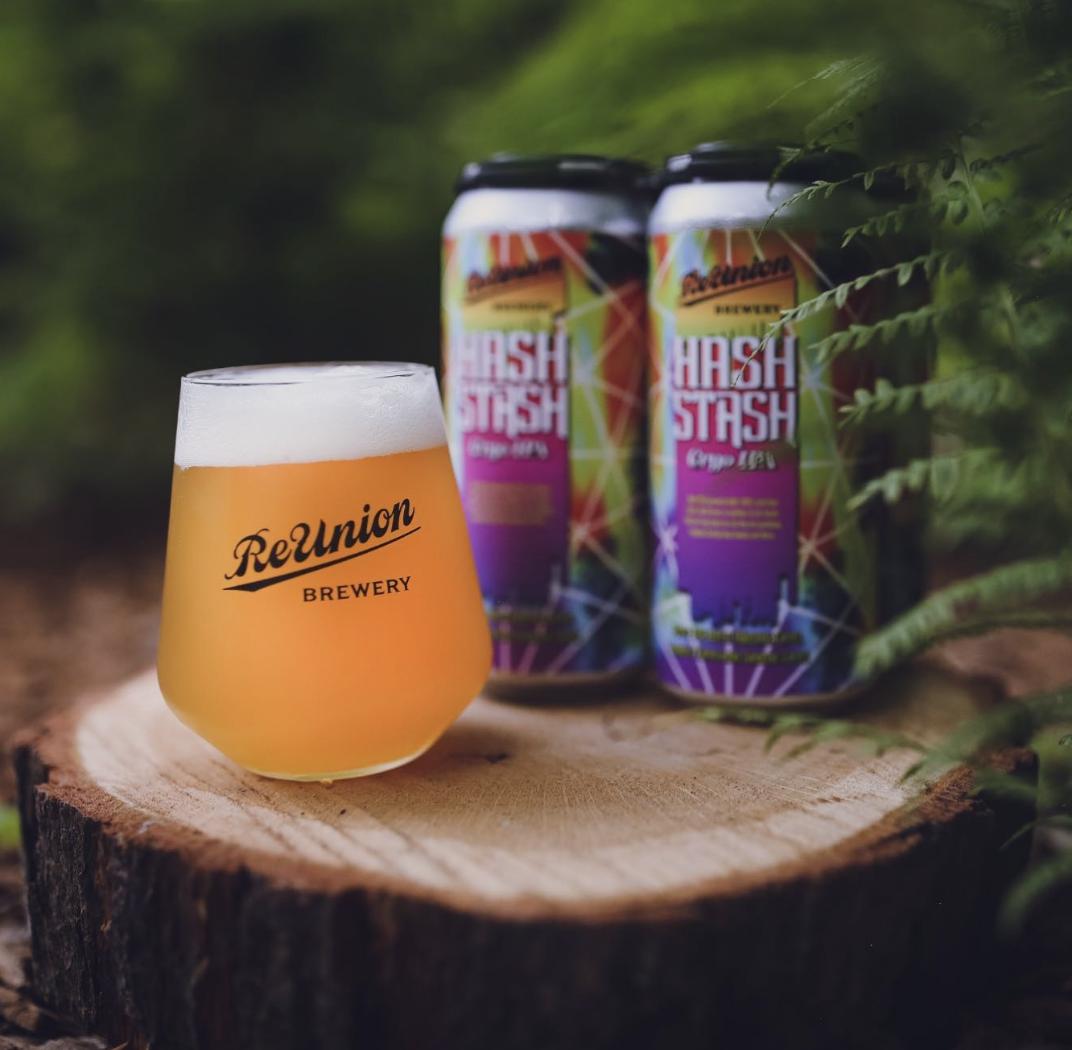 Hash Stash IPA Craft Beer Iowa